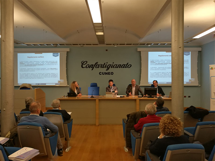 Sala conferenze Cuneo 2019 per evento - WelFare Insieme