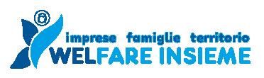 Logo di WelFare Insieme: imprese; famiglie; territorio